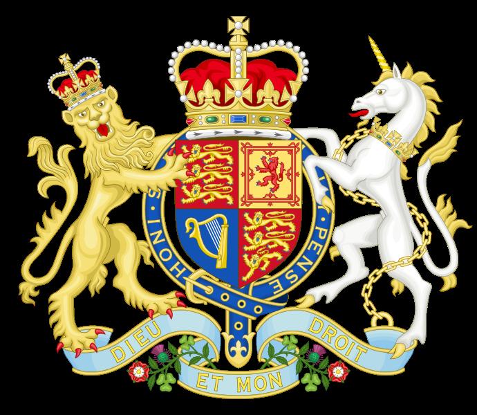 Shell clipart heraldic scallop. British and nigerian coat