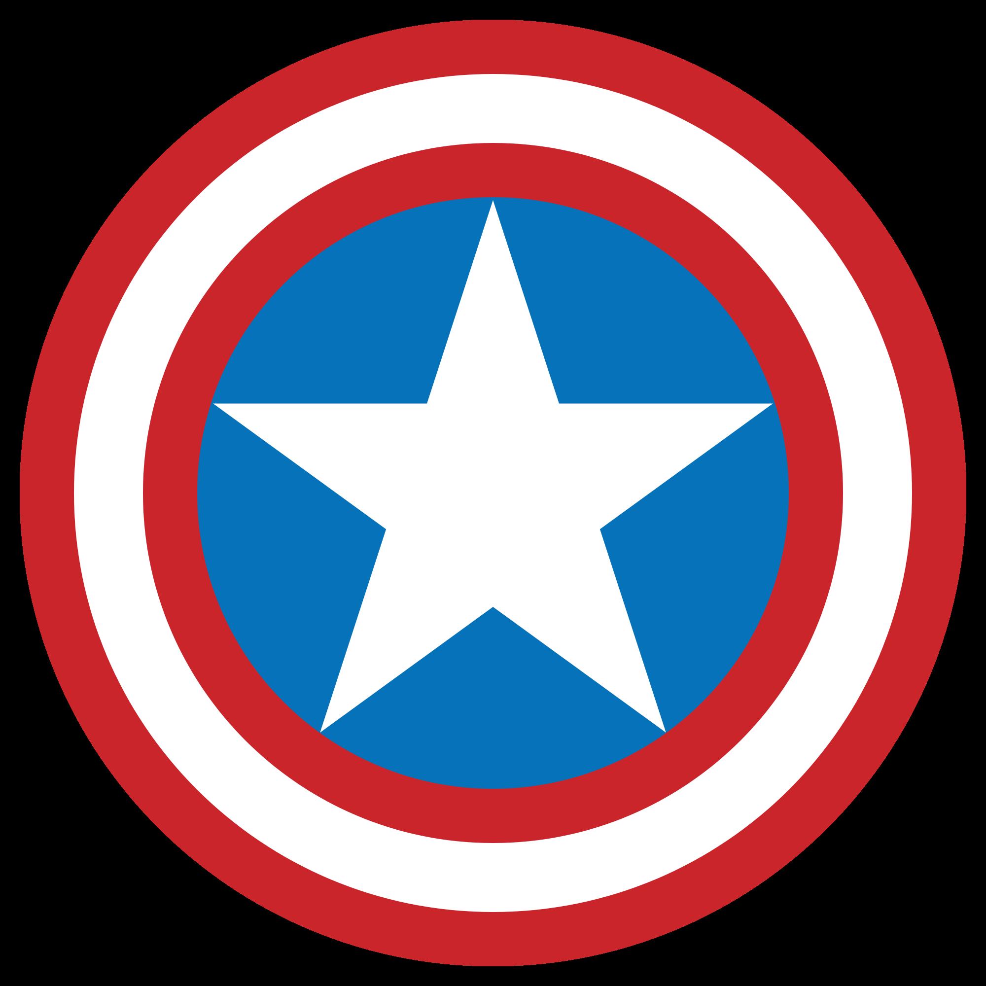 Head clipart captain america. S h i e