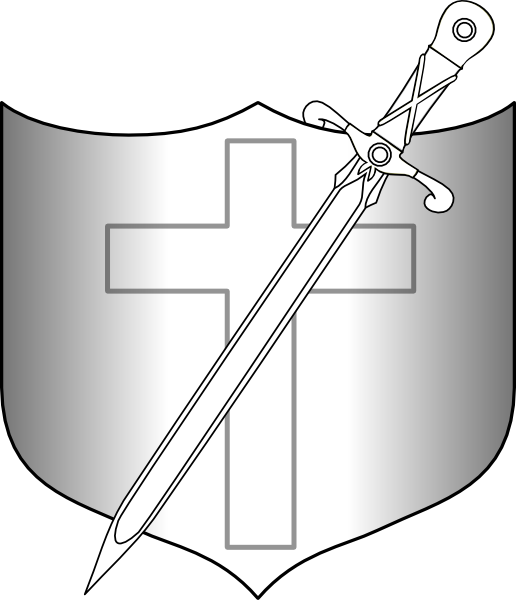 Clipart sword shield. Jonadab and longsword clip