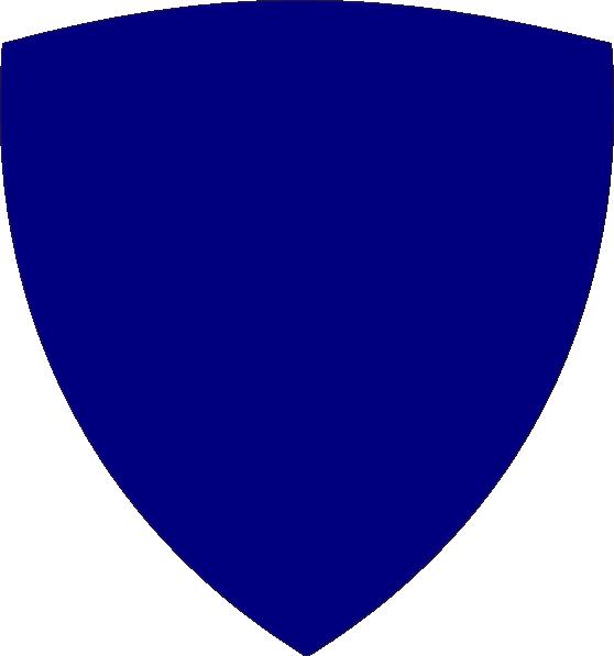 Blue clip art at. Clipart shield cross