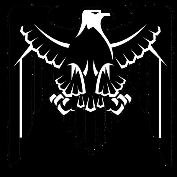 Eagles clipart stencil. Eagle logo by raulraygoza