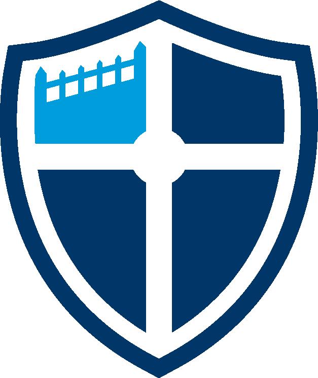 Jbu primary logo john. Clipart shield emblem
