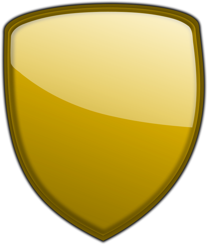 Clipart shield file. Free gold psd files