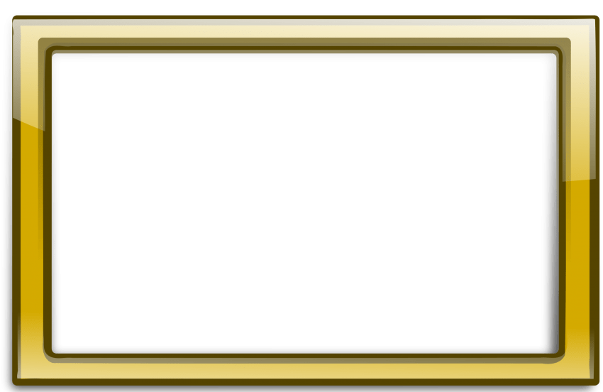 Clipart shield frame. Gold border png free