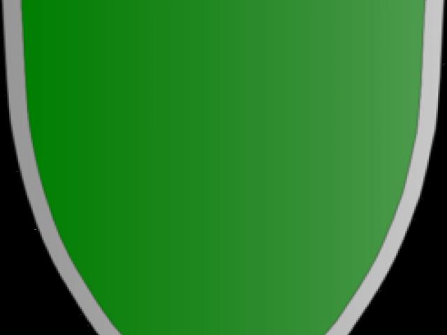 clipart shield green
