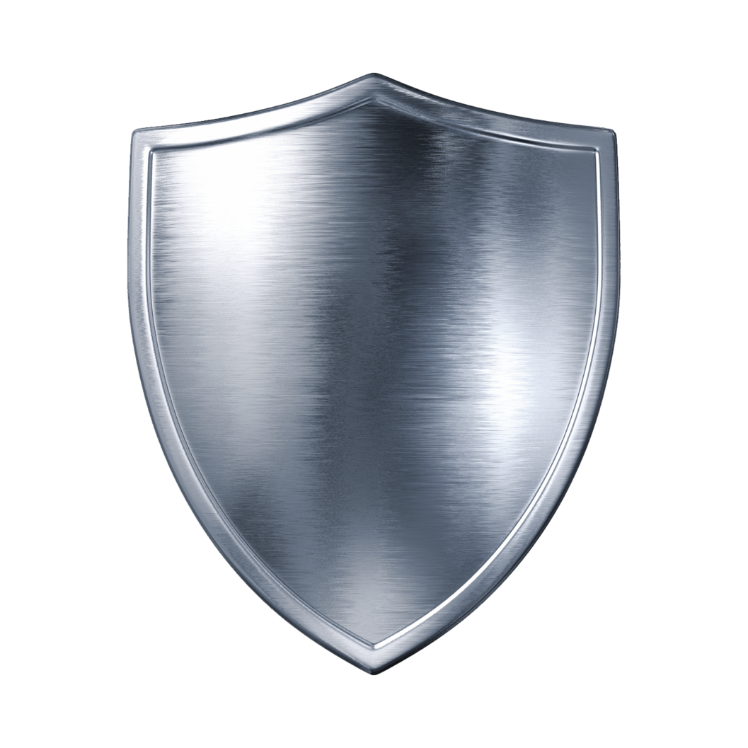 Shield six isolated stock. Ufo clipart blank background