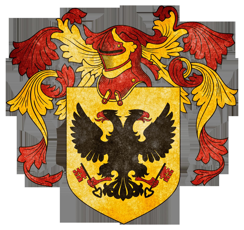 Heraldry i bis by. Clipart shield grunge