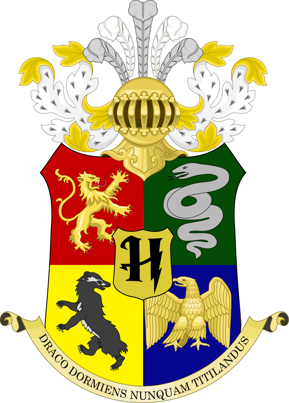 Clipart shield hogwarts. File coat of arms