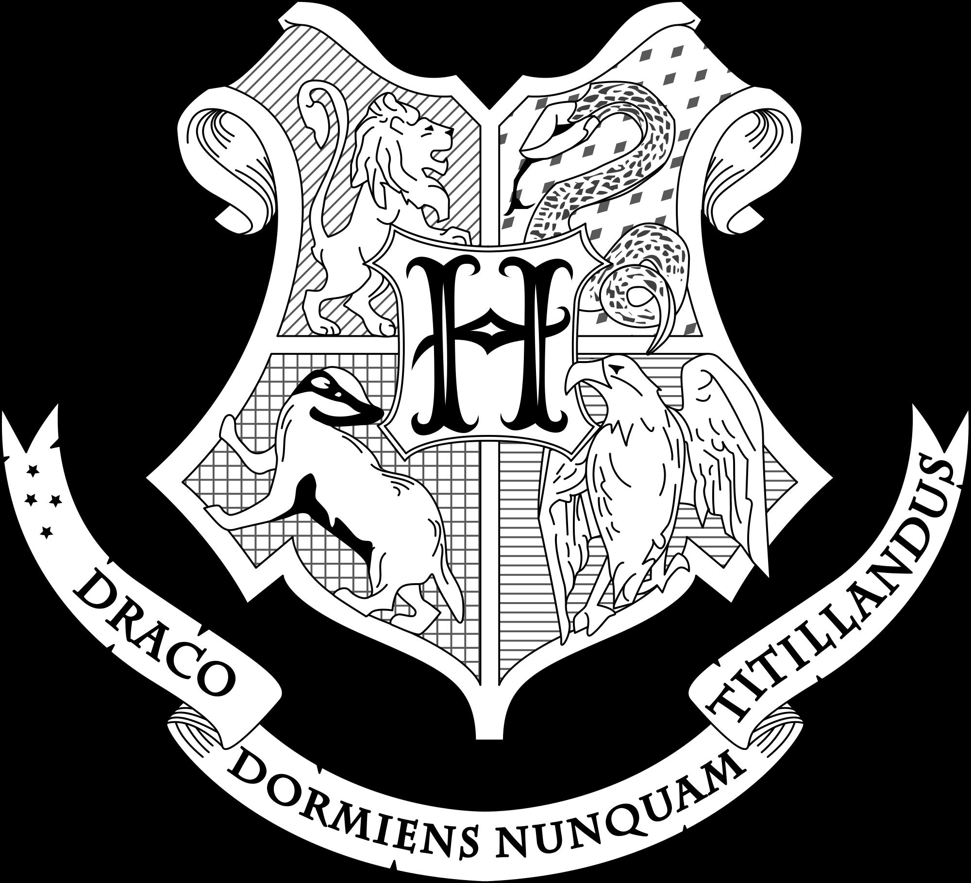 px coat of. Clipart shield hogwarts