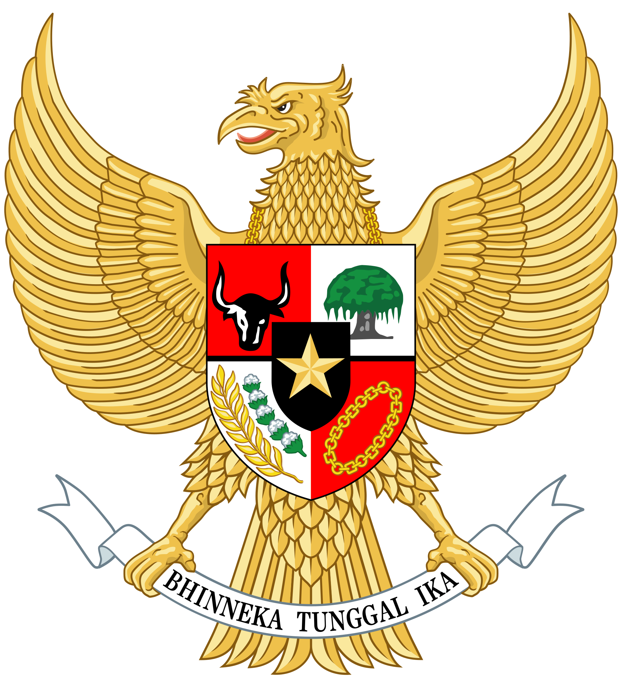 National emblem of indonesia. Economics clipart socialist economy
