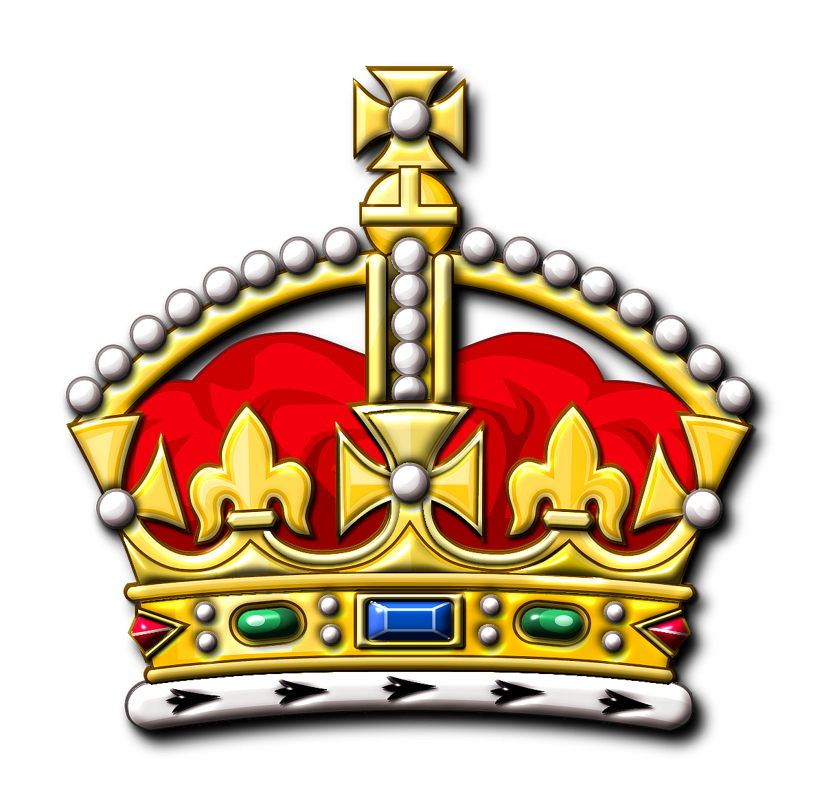 Queen clipart logo. Kings crown drawing at