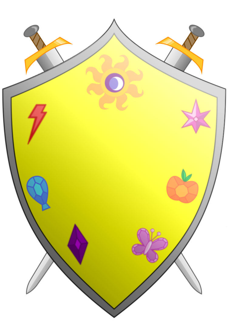 Clipart shield knights. Of harmony and arms
