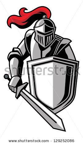 Knight stock photos photography. Clipart shield knights