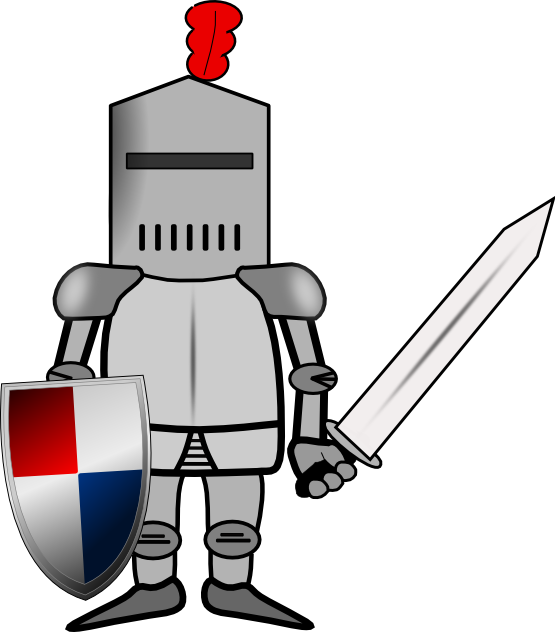 knights clipart cool