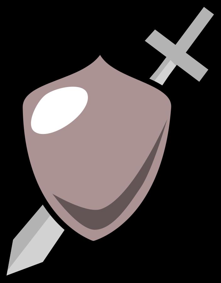 Art online . White clipart sword