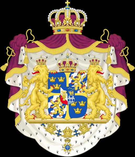 Europe in european monarchies. Clipart shield lion
