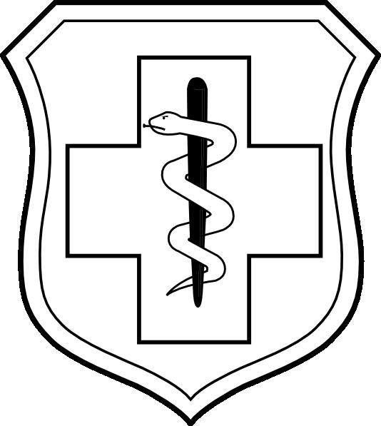 Medical clipart emblem. United states air force