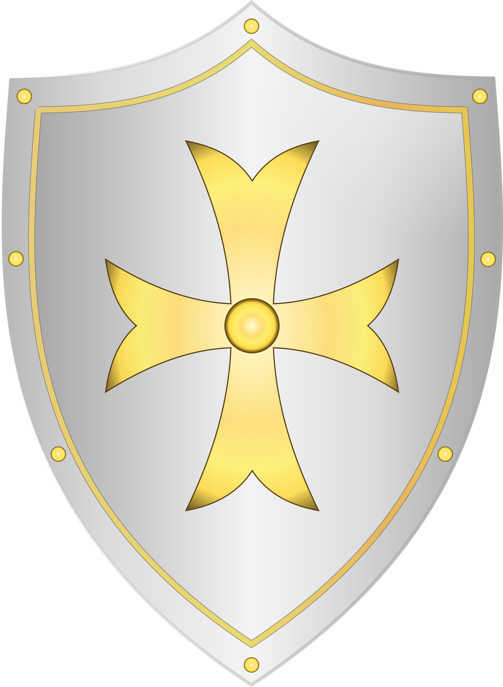 Classic big image png. Clipart shield medieval shield