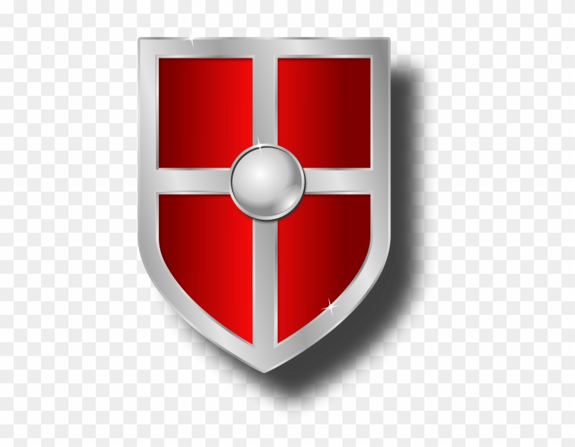 Red shields hd . Clipart shield medieval shield
