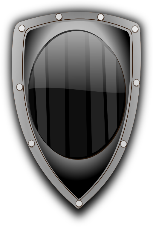 Clipart shield metallic. Metal i royalty free