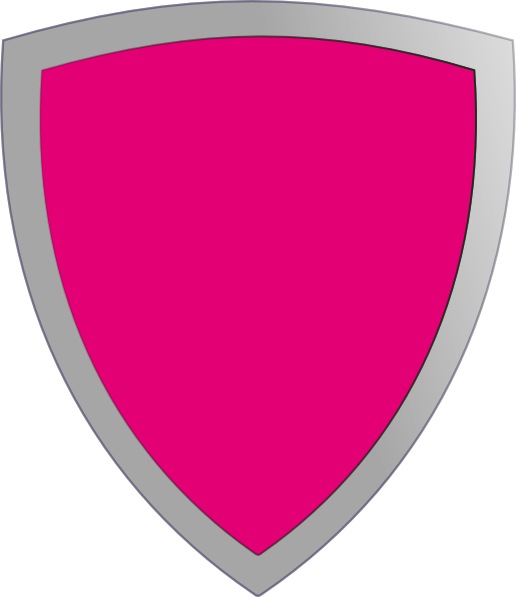 Magenta clip art at. Clipart shield pink