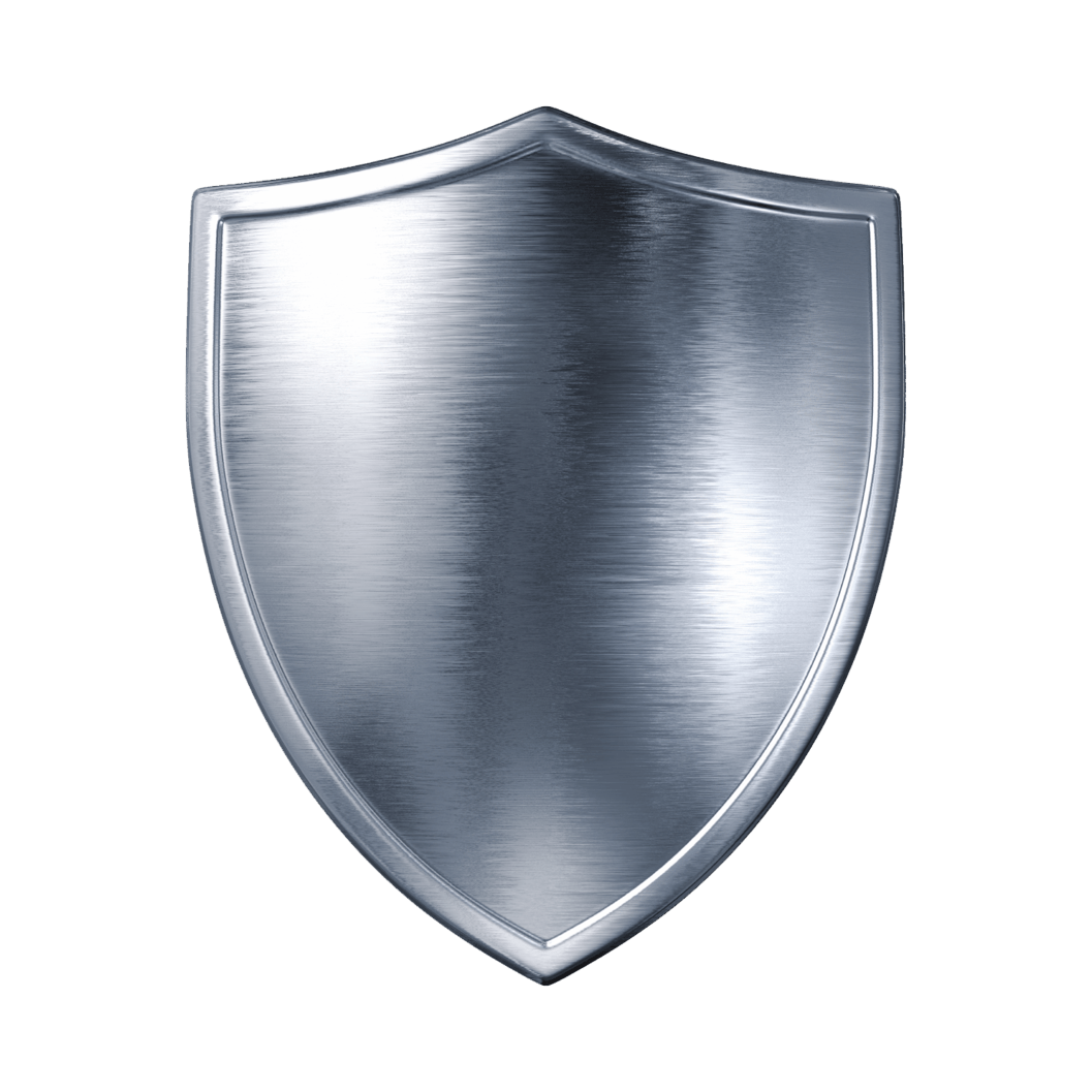 Clipart shield plain. Silver transparent png stickpng