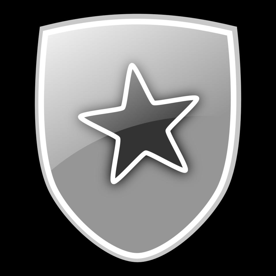 Clip art image icon. Clipart shield public domain