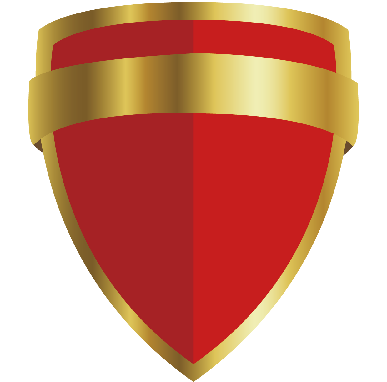 Clipart shield red black. Icon transprent png free