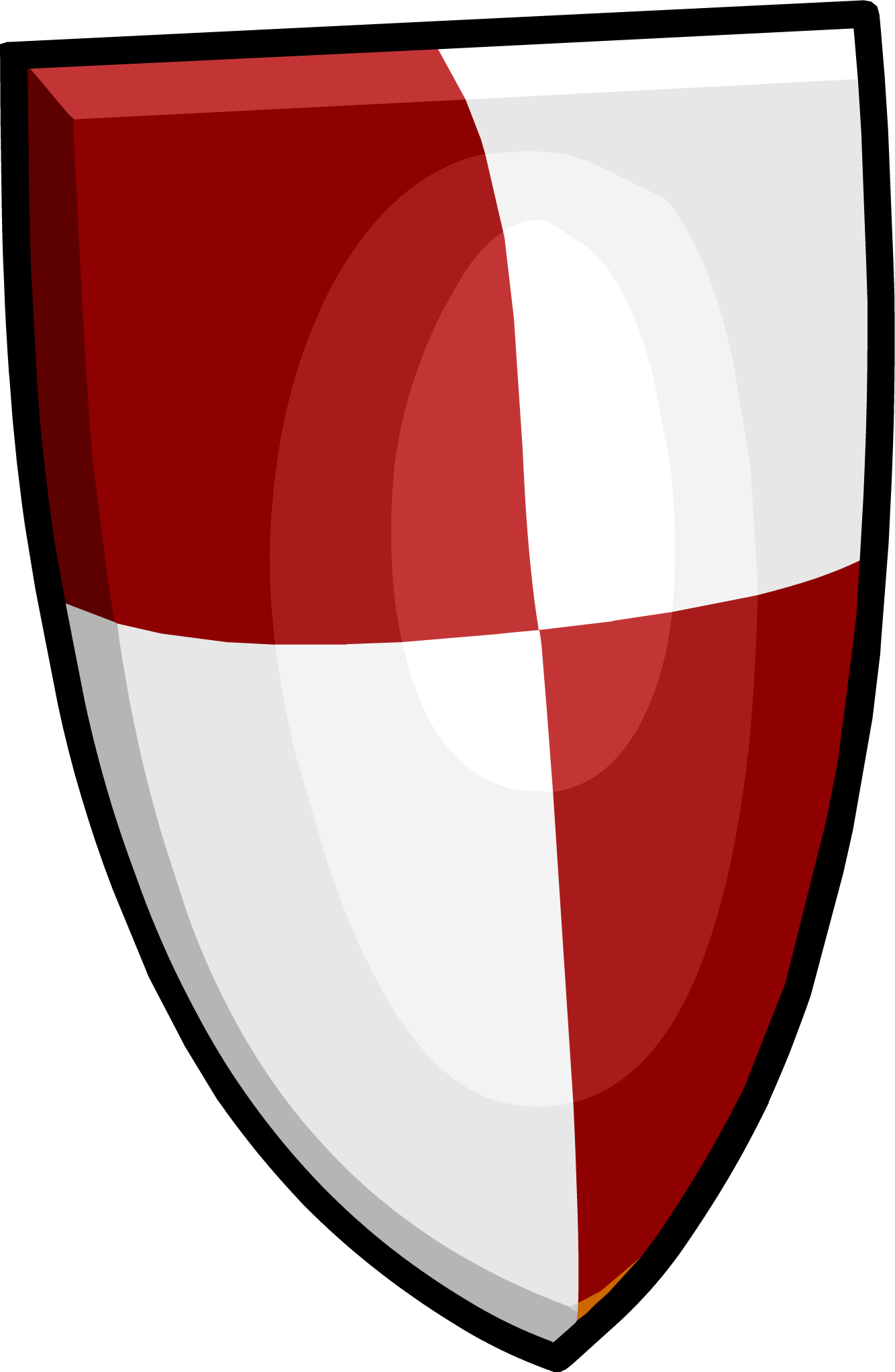 Image png club penguin. Clipart shield red black