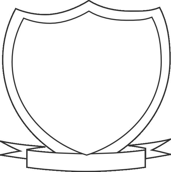 Clipart shield ribbon. Clip art at clker