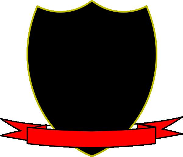 Clip art at clker. Clipart shield ribbon