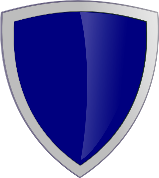 Dark blue clip art. Clipart shield security shield