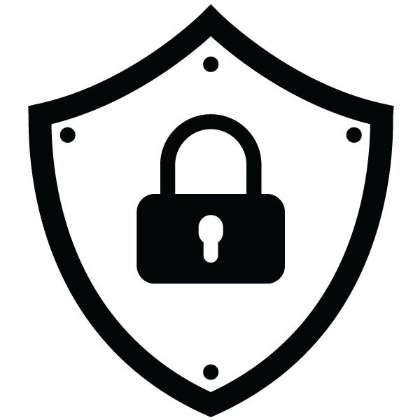 Clipart shield security shield. Site lockdown wordsecured