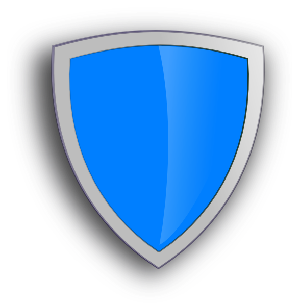 Clipart shield security shield. Blue clip art at