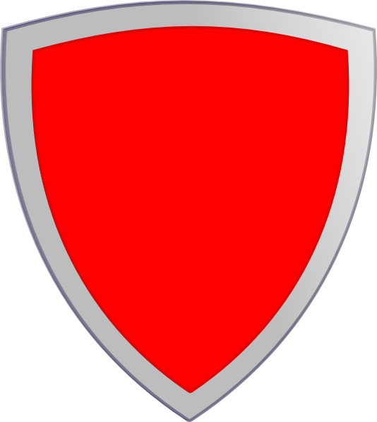 Clipart shield security shield. Plain red clip art