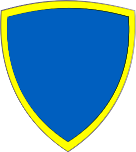 Clipart shield security shield. Blue yellow clip art