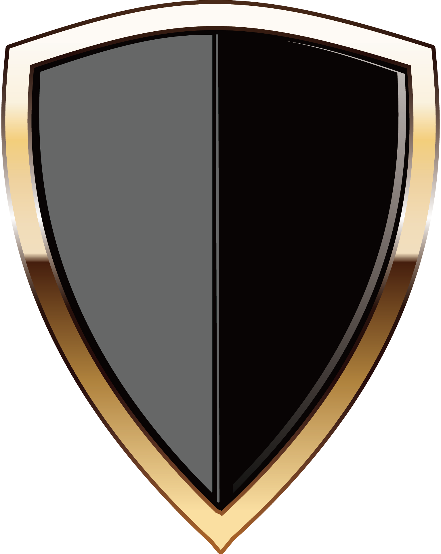 Logo transprent png free. Clipart shield security shield