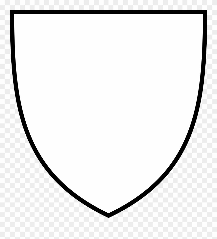 Clipart shield shield logo. Blank png download basic