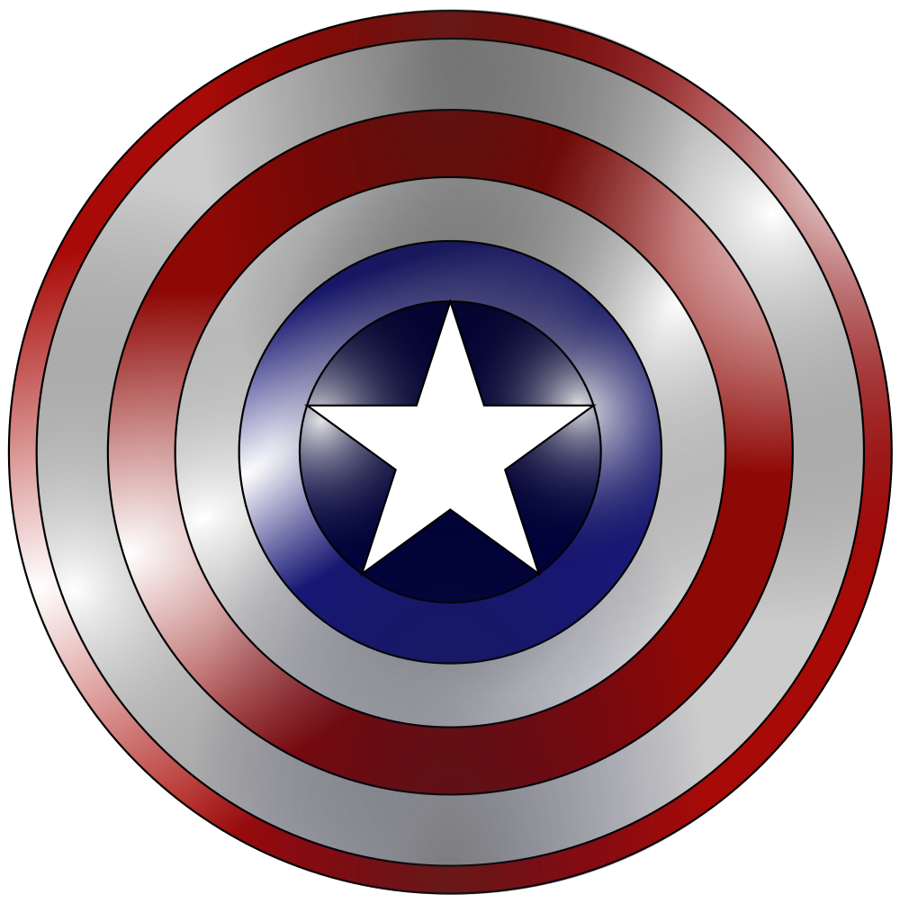 Clipart shield shield logo. Onlinelabels clip art captain