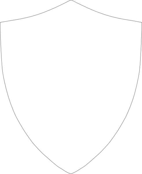 Clipart shield shield outline. Free template download clip