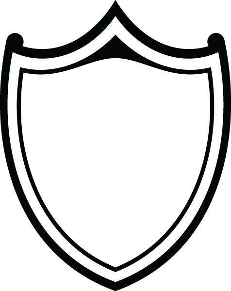 Free download best on. Clipart shield shield outline