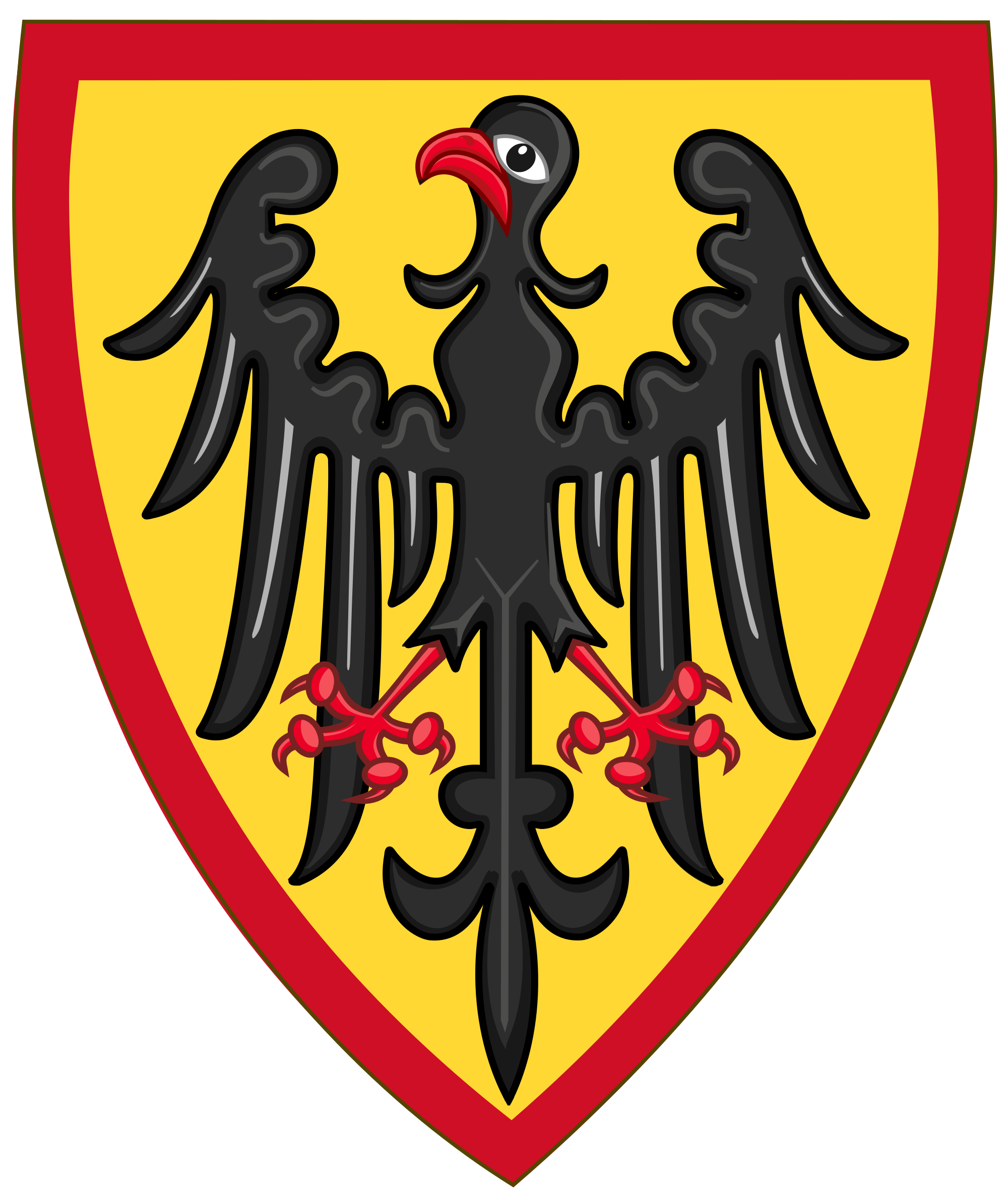 Clipart shield shield roman. Coat of arms germany