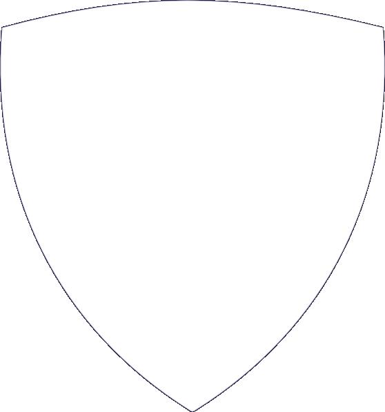 White clip art at. Clipart shield silhouette