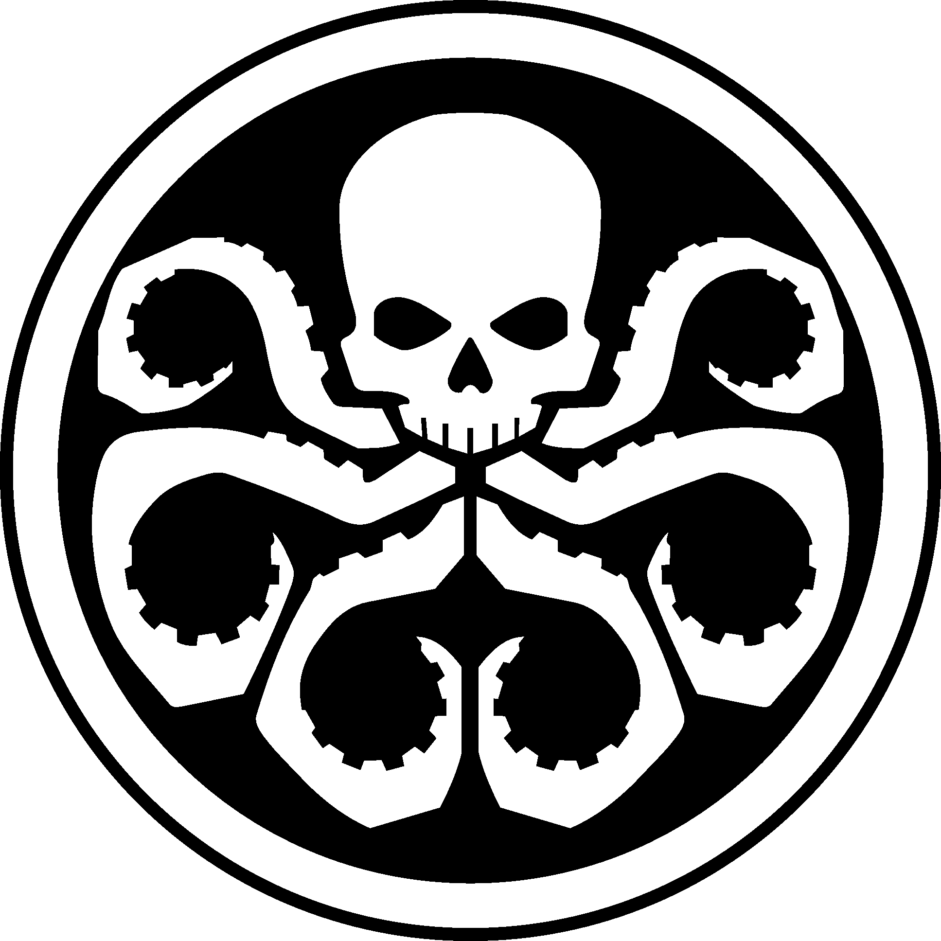 Latest leptop decals pinterest. Clipart shield skull