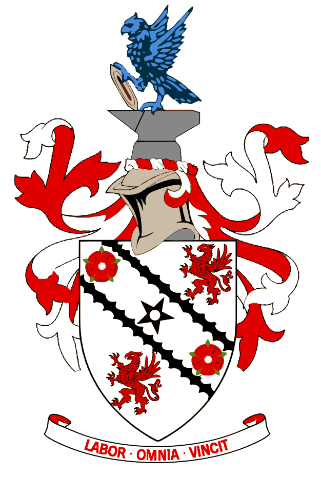 Wing clipart family crest. File chadderton urban district