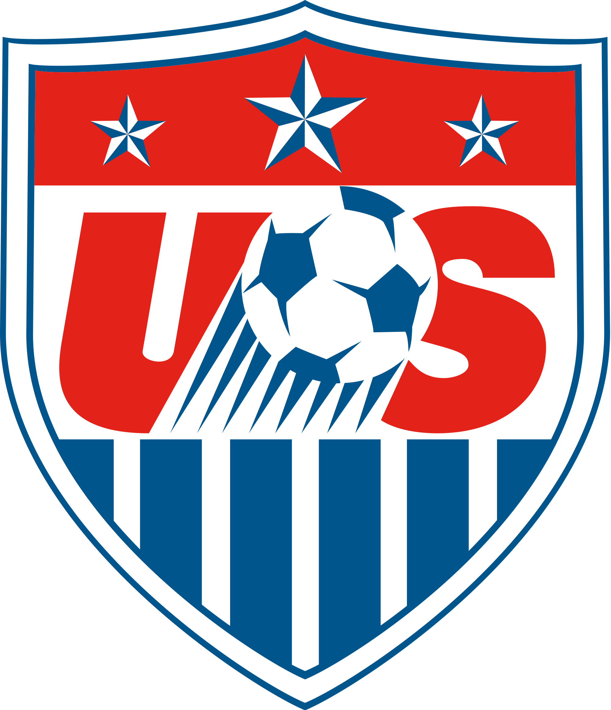 Clipart shield soccer. File united states federation