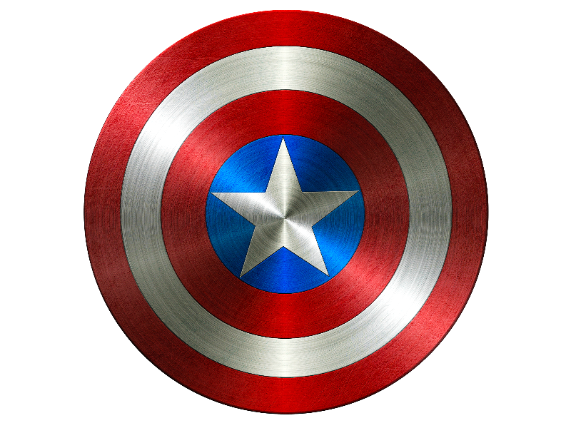 Clipart shield steel. Captain america png isolated