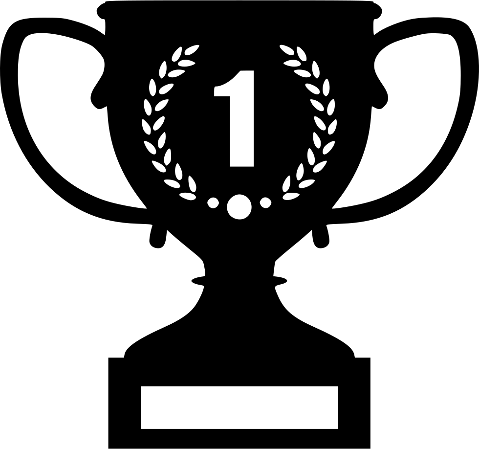 Clipart shield trophy. Best champion prize win