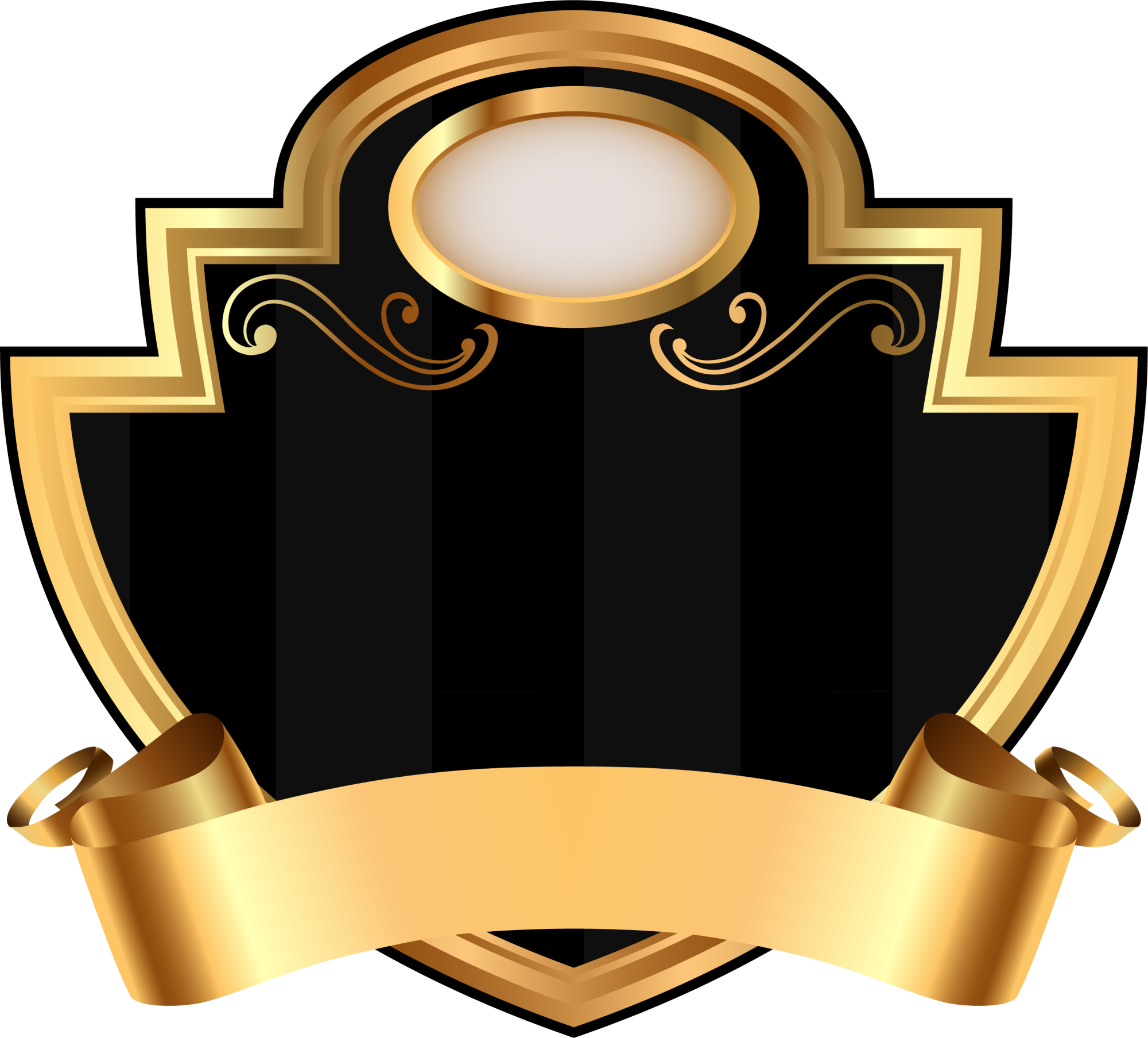 Clipart shield trophy. Elevator umbrellas and shading