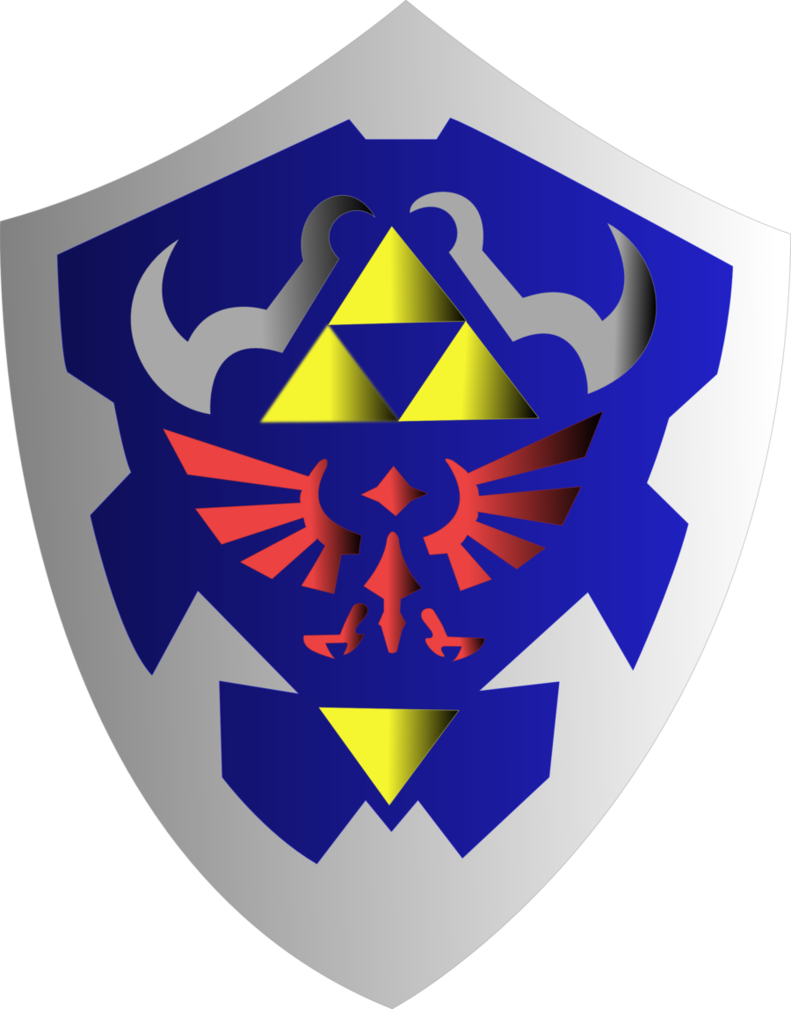 Hylian by fenrirconnell on. Clipart shield vector